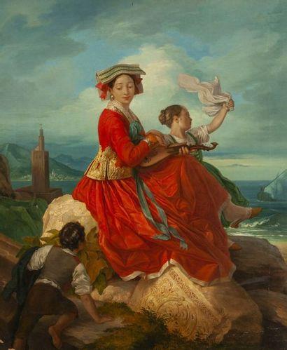 Carl Gustaf PLAGEMANN (1805-1868)  Les adieux...