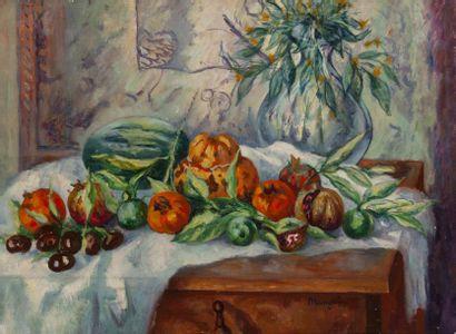 Henri Charles MANGUIN (1874 - 1949)  Nature...