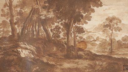 Entourage de Gaspar DUGHET  (Rome 1615-1675)...