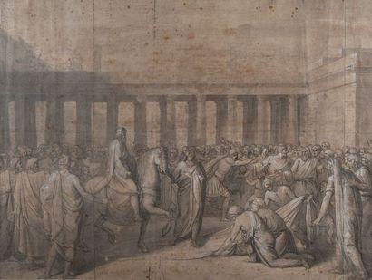 Ecole italienne du XVIIe siècle  Le retour...