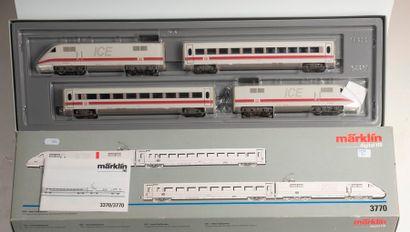 MARKLIN «HO»digital: Train à grande vitesse de la DB – ICE, réf. 3770 (bo).