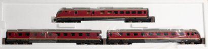 MARKLIN «HO»: Train automoteur diesel...