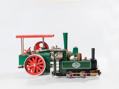 MAMOD: Coffret avec locomotive à vapeur...