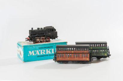 MARKLIN – HORNBY – FRADIS : Loco-tender 131,...