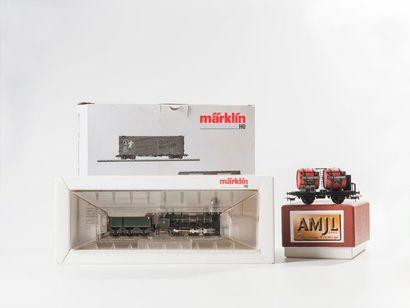MARKLIN «HO»: Locomotive K. BAY.STS.B avec système DELTA, réf. 34971 (bo).