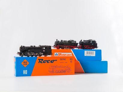 ROCO «HO»: Loco-tender 141 TA SNCF, réf....