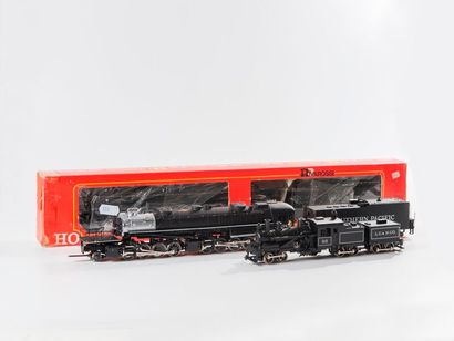 "RIVAROSSI ""HO"" : Locomotive SOUTHERN PACIFIC 2.4.4.1. réf. 1248 (bo).  - Locomotive..."