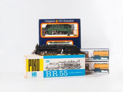 PIKO : Coffret avec loco-tender 131 TB SNCF....