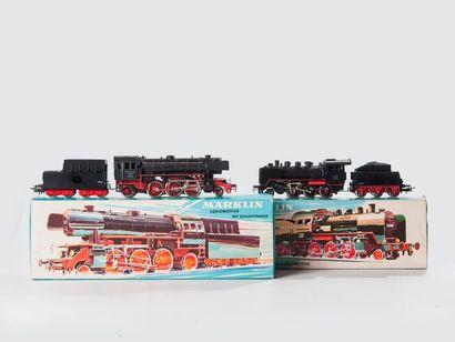 MARKLIN «HO»: Locomotive 130, noire, réf....