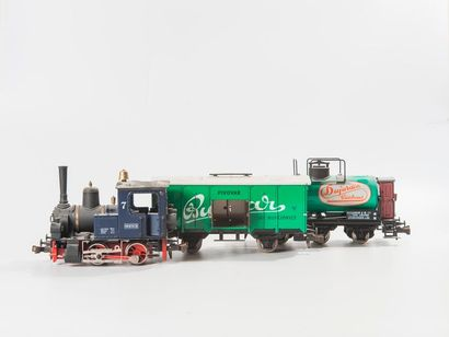 ETS «O»: Rame marchandise avec loco-tender...