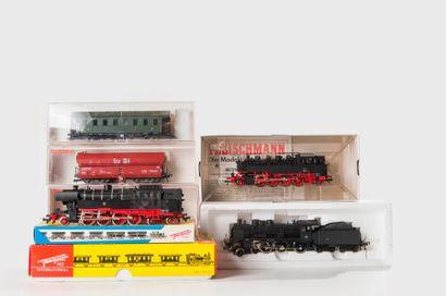 FLEISCHMANN: Locomotive 230 F SNCF, noire,...