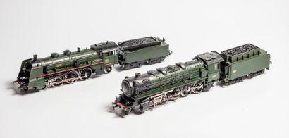 MARKLIN «HO»: Locomotive 150 X SNCF, verte,...