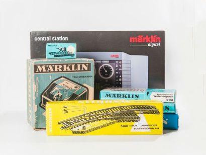MARKLIN «HO»: Ensemble de matériel pouvant...