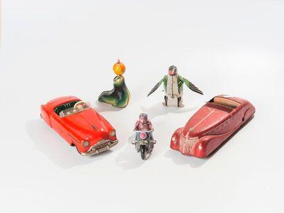 Lot de jouets comprenant pingouin JOUSTRA...