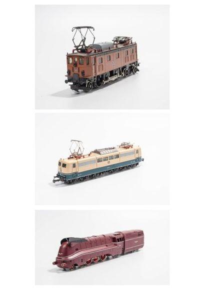 MARKLIN «HO»: Locomotive 231 carénée,...