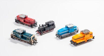MARKLIN «HO»: Motrice diesel DHG 500,...