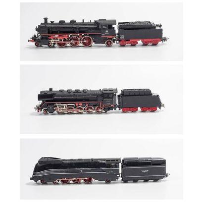MARKLIN «HO»: Locomotive 231 DB, noire,...