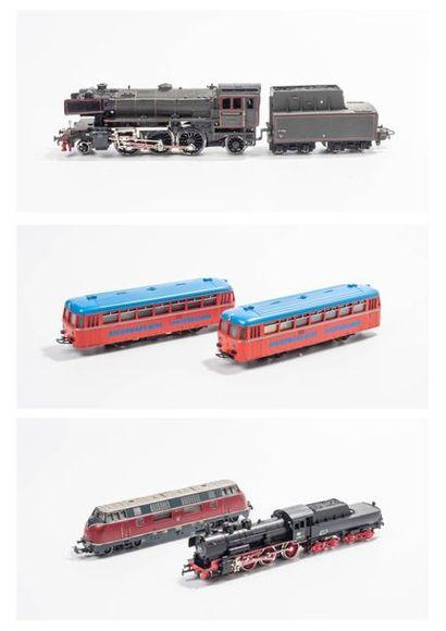 MARKLIN «HO»: Locomotive 230 DB, noire,...