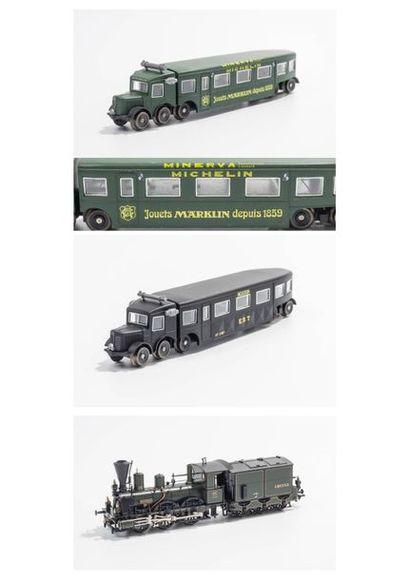 MARKLIN «HO»: Locomotive K. BAY.Sts.B...
