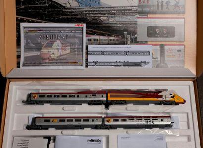 MARKLIN «HO»: Valise trains spécial THALYS...