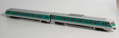 MARKLIN «HO»: Train automoteur diesel,...