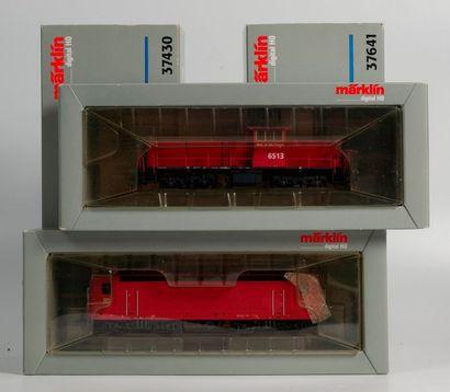 MARKLIN «HO»digital: Motrice diesel NS...