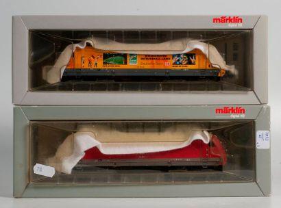 MARKLIN «HO»digital: Motrice électrique BR 101 de la DB, réf. 39370 (bo).  -Motrice...