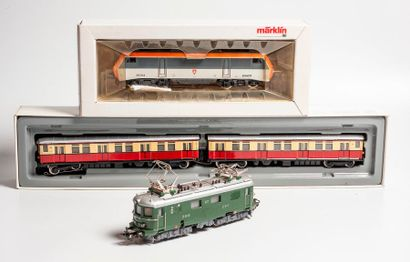 MARKLIN «HO»: HOBBY: Train automoteur...