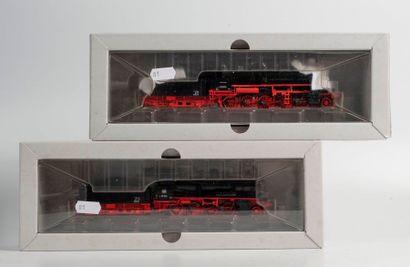 MARKLIN «HO»: Locomotive 150 DR – BR 58.1021, noire, réf. 37589 (bo).  -Locomotive...