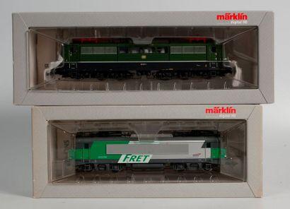 MARKLIN «HO»digital: Motrice électrique FRET, série 422.200, réf. 37255 (bo)....