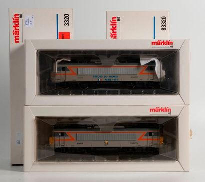 MARKLIN «HO»: Motrice électrique SNCF...