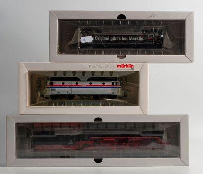 MARKLIN «HO»: Locomotive 231 DR, noire,...