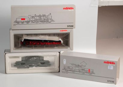 MARKLIN «HO»digital: Motrice électrique SNCF BB 12000, verte, réf. 37330 (bo)....