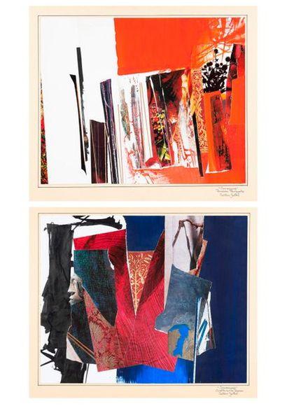 SAUTOUR-GAILLARD Jean René SAUTOUR-GAILLARD (1946-2016)  Compositions  Deux techniques...