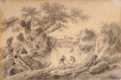 ECOLE DE JEAN PILLEMENT  (LYON 1728 – 1808)...