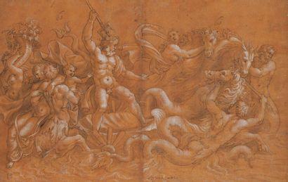 ECOLE DE GIULIO ROMANO  (ROME 1499 - 1546)...