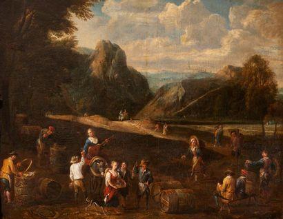 Attribué à Cornelis de WAEL (1592 – 1667)...