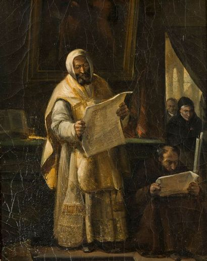 François Marius GRANET  Moine orthodoxe dans...
