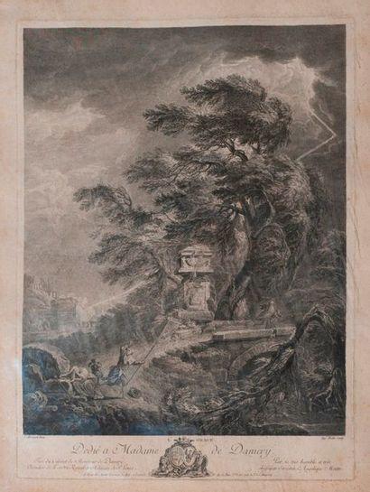D'après Lallemand, par Angélique Moitte  l'orage...