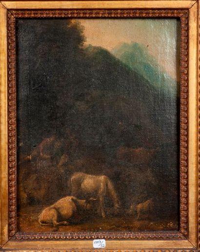 Dans le gout du XVIIIe siècle  Paysage a...