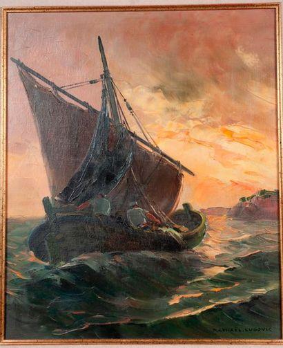 Raphaël LUDOVIC (Xxème siècle)  Partie de...