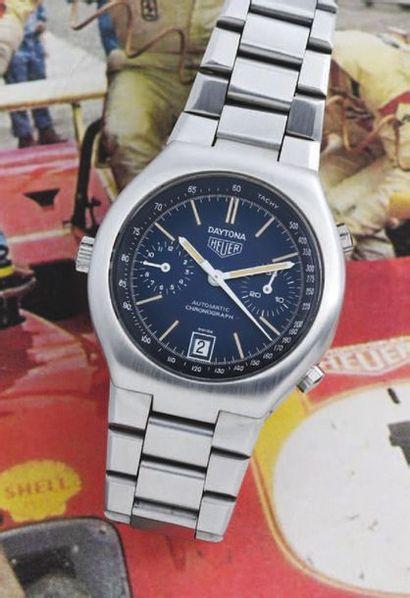 HEUER  (Chronographe Daytona - Chronomatic...