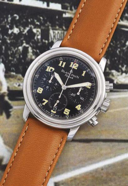 BLANCPAIN  (Chronographe Sport Pilote - 21000...