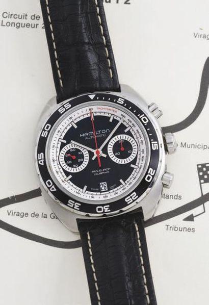 HAMILTON  (Chronographe Pilote / Pan-Europ...