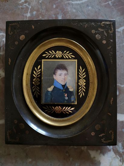 Ecole FRANCAISE vers 1810  Portrait présumé...