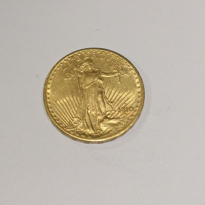 1 pièce 20 dollars or, Liberty 1914