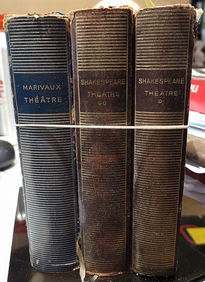 3 volumes de la Pléaide: Shakespeare, Ma...