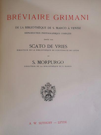 Réédition du Bréviaire Grimani de la Bibliothèque...