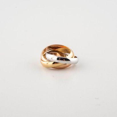 Cartier. Modèle Trinity. Trois anneaux trois...