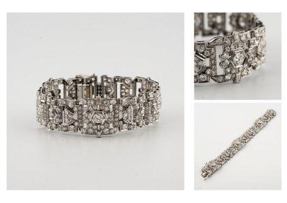 Charles Fontana & Cie (Att.à). Bracelet Art...